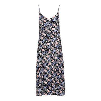 Damen-Kleid mit schickem Blumenmuster