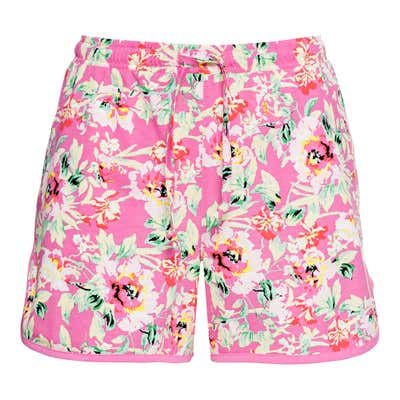 Damen-Shorts mit stylishem Muster