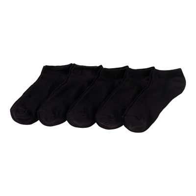 Damen-Sneaker-Socken, 5er Pack