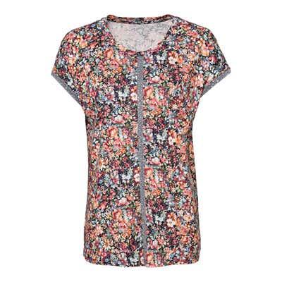 Damen-T-Shirt mit hübschem Zierband