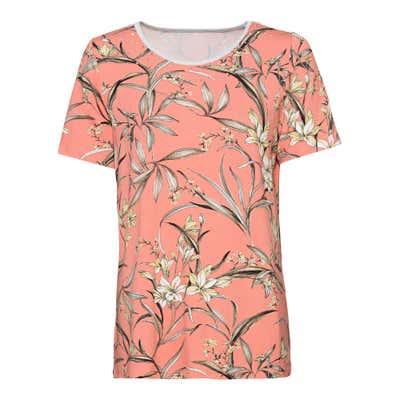 Damen-T-Shirt mit Frühlingsdesign