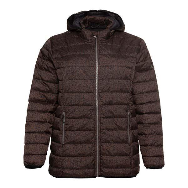 Damen-Jacke mit Kapuze, große Größen