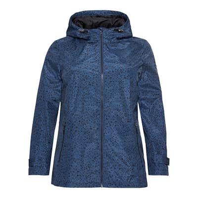 Damen-Jacke mit Leo-Muster, große Größen