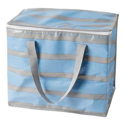 Kühltasche mit Streifenmuster, ca. 39x24x33cm