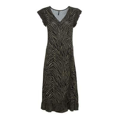 Damen-Kleid mit wunderschöner Rüsche