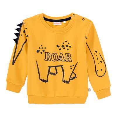 Baby-Jungen-Sweatshirt mit Dino-Design