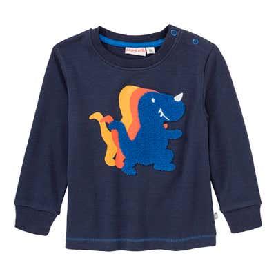 Baby-Jungen-Shirt mit fröhlichem Dino-Motiv