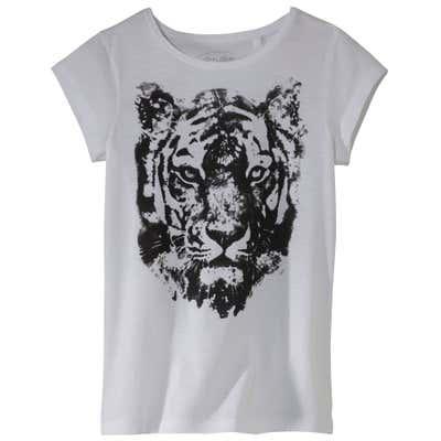 Damen-T-Shirt mit bezauberndem Frontaufdruck