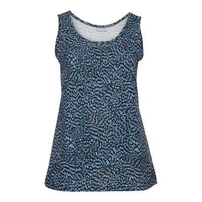 Damen-Top mit schickem Muster, große Größen