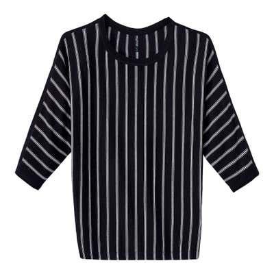 Damen-Pullover mit trendigen Fledermaus-Ärmeln
