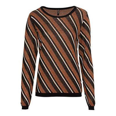 Damen-Pullover mit Glitzer-Effekten