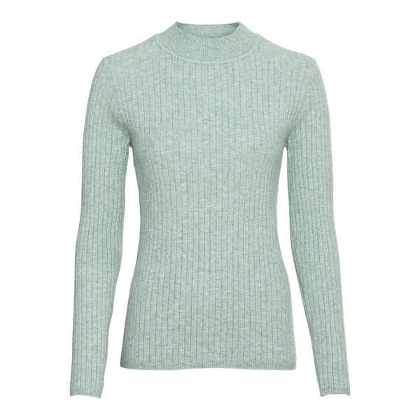 Damen-Pullover mit Ripp-Design