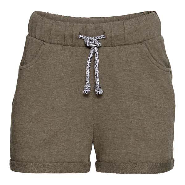 Damen-Shorts in Melange-Optik