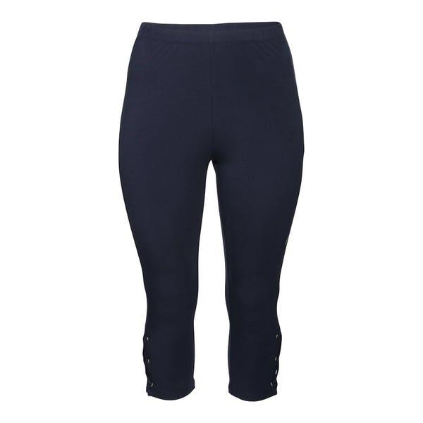 Damen-Leggings mit schicker Schnürung, große Größen