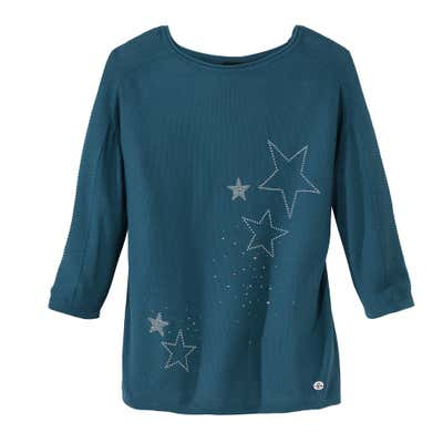Damen-Pullover mit traumhaften Sternen