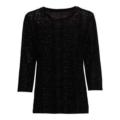 Damen-Pullover mit Struktur-Muster