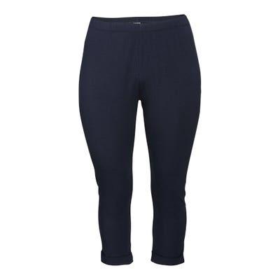 Damen-Leggings mit Beinumschlag, große Größen