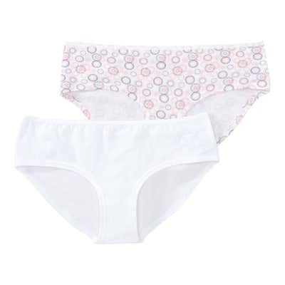 Damen-Panty mit Kreis-Muster, 2er Pack