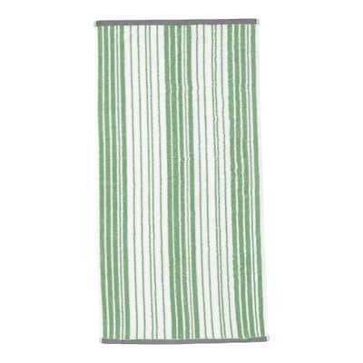 Handtuch mit trendigem Streifenmuster, 50x100cm