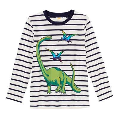 Jungen-Shirt mit verschiedenen Dinos