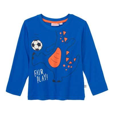 Baby-Jungen-Shirt mit Fußball-Dino