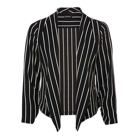 Damen-Blazer mit Streifendesign