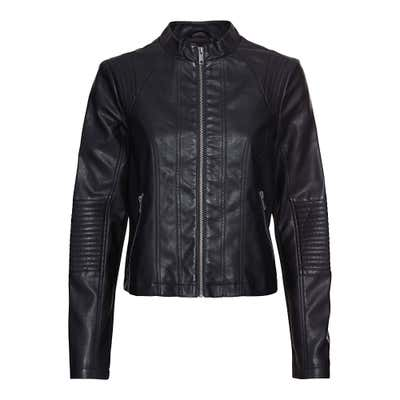 Damen-Jacke in Leder-Optik