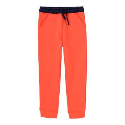 Jungen-Jogginghose mit kontrastfarbenem Bund