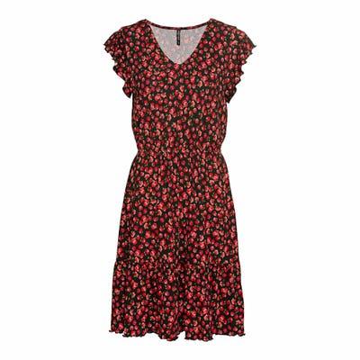 Damen-Kleid mit Rüschen