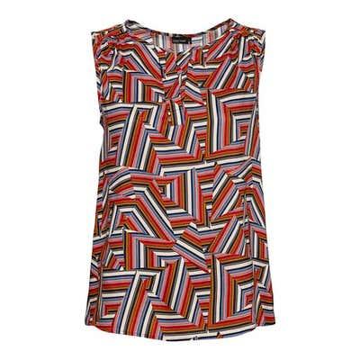 Damen-Bluse mit angesagtem Muster