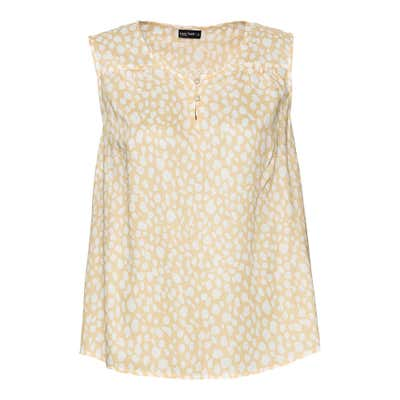 Damen-Bluse mit kleiner Knopfleiste