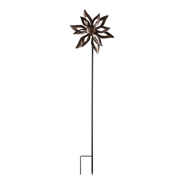 Gartenstecker mit Windmühle, ca. 24x9x91cm