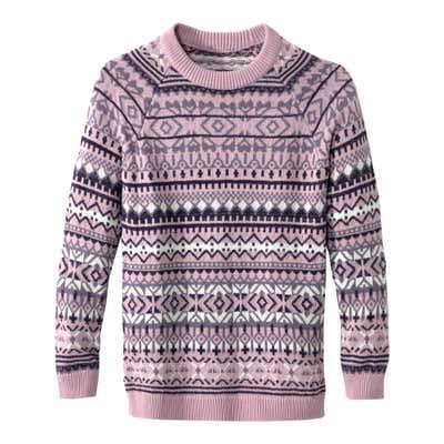 Damen-Pullover in festlichem Design
