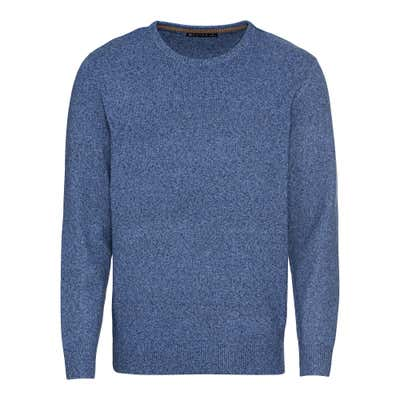 Herren-Pullover in Melange-Optik