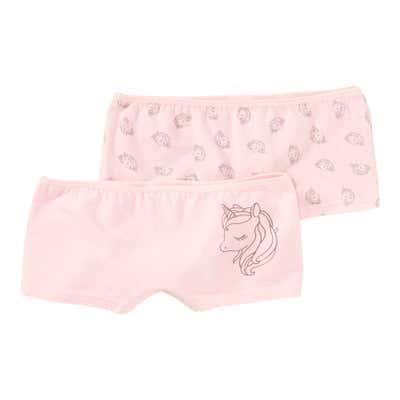 Mädchen-Panty mit Einhorn-Muster, 2er Pack
