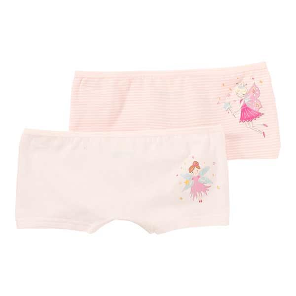 Mädchen-Panty mit Feenmotiv, 2er Pack