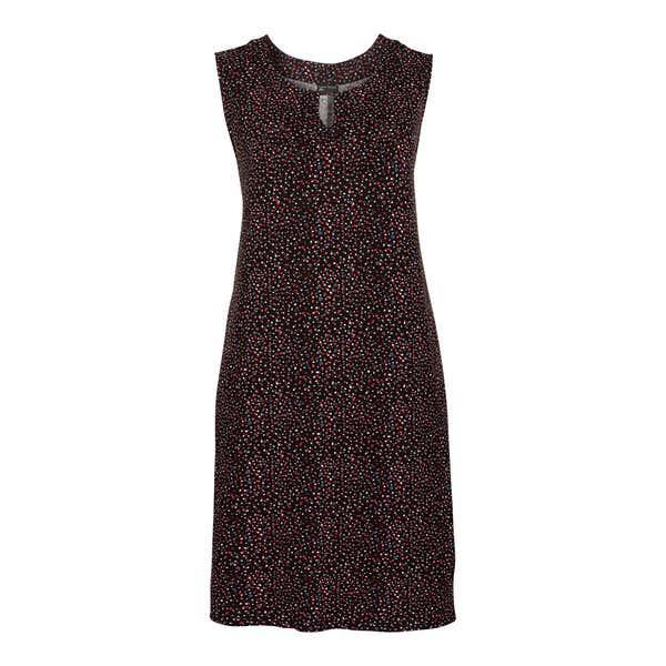 Damen-Kleid mit Tupfen-Muster, große Größen