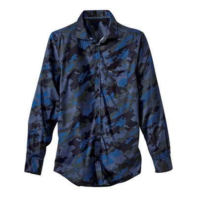 Herren-Hemd in beliebter Camouflage-Optik