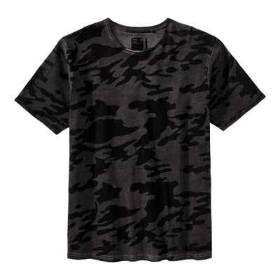 Herren-T-Shirt mit Camouflage-Muster, große Größen