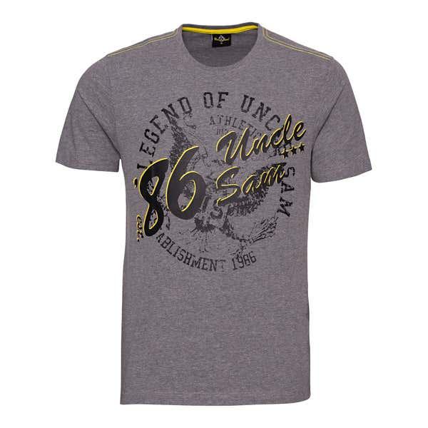 Uncle Sam Herren-Fitness-T-Shirt