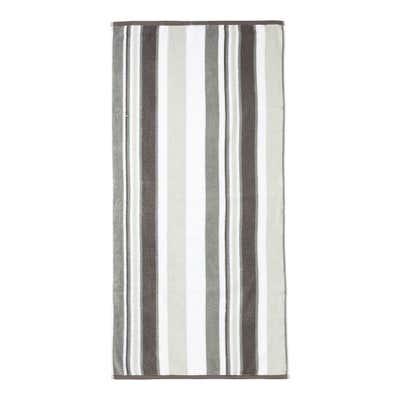 Duschtuch mit modernen Streifen, 65x130cm