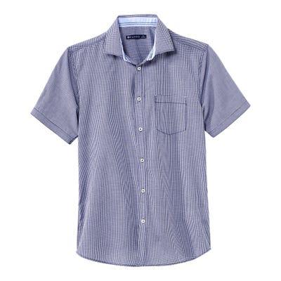 Herren-Hemd mit feiner Struktur