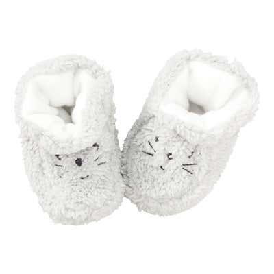 Baby-Schuhe aus Teddy-Plüsch