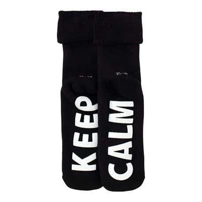 Damen-Socken mit Spruch, 1er Pack