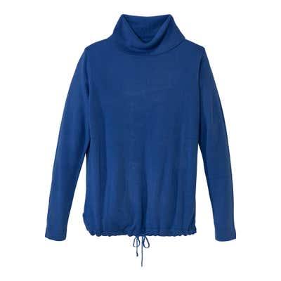 Damen-Pullover mit Tunnelzug