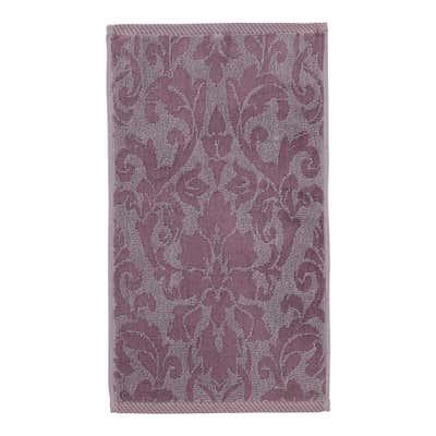 Gästetuch mit Jacquard-Muster, 30x50cm