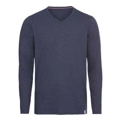 Herren-Shirt in Melange-Optik