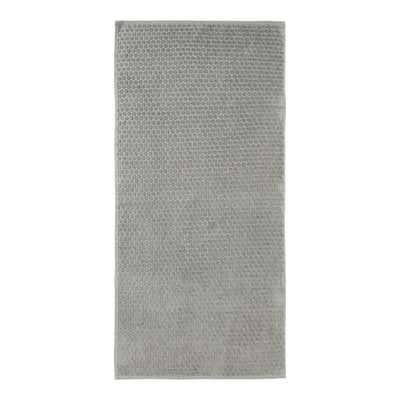 Duschtuch mit Struktur-Punkte-Muster, 65x130cm