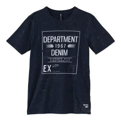 Herren-T-Shirt mit coolem Frontprint