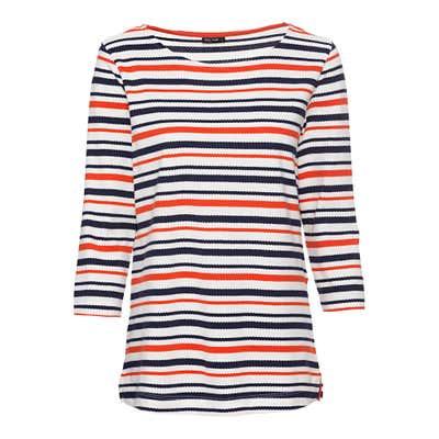 Damen-Shirt mit maritimen Ringelmuster